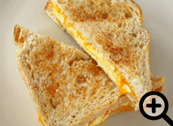 Classic Grilled Cheese & Egg
