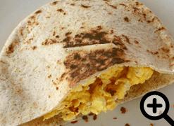 Spicy M-egg-iteranian Pita