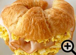 Swiss Croissant Sandwich