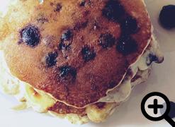 Very Blueberry Pancakes