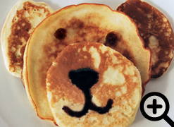 Bear-y Cute Pancakes