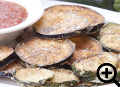 Fried Zucchini & Eggplant Chips